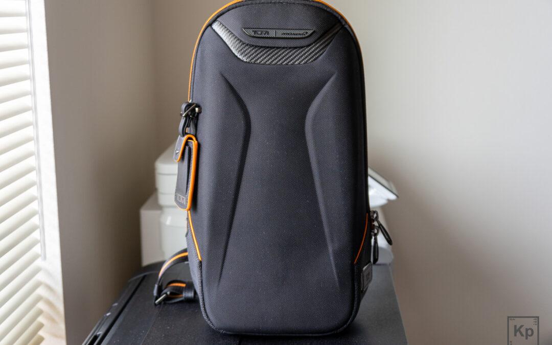 TUMI McLaren Torque Sling Bag Review