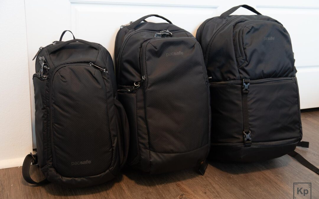 Pacsafe Camsafe X9, X17, & X25 Anti-theft Backpack Review – Which One Should You Get?